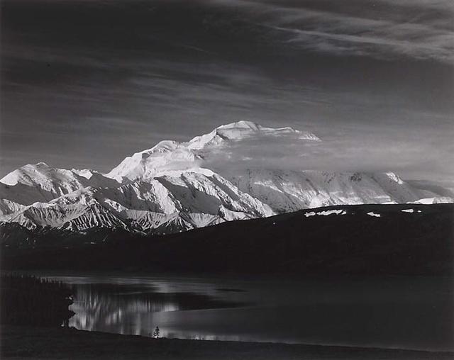 , 'Mt. McKinley, Wonder Lake, Denali National Park, Alaska,' 1967, Susan Spiritus Gallery