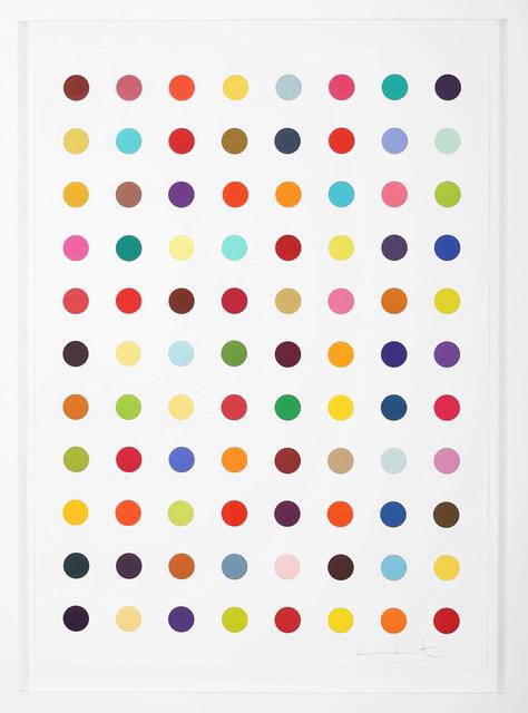 Damien Hirst, 'Vertical Spots ', 2018, Print, Woodcut, Arton Contemporary
