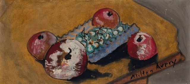 Milton Avery, 'Still Life with Fruit', Doyle