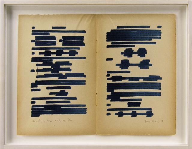 , 'Osmotic Drawings D-1, D-2, D-4,' 1996, Galerija Gregor Podnar