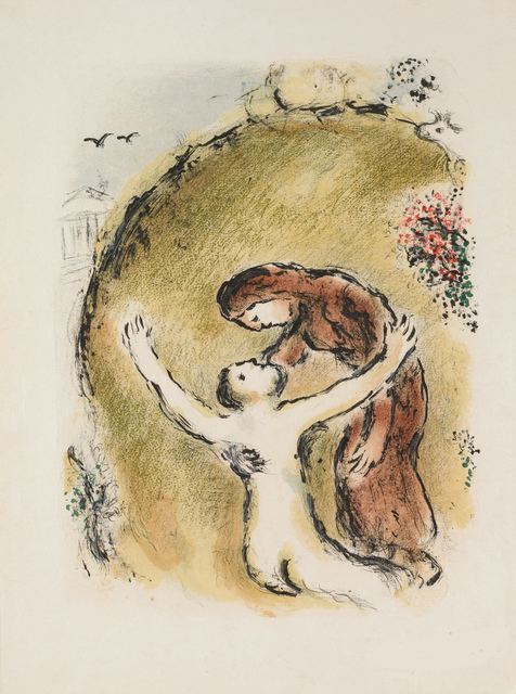 Marc Chagall, 'The Soul of Elpenor (M.781, L'Odyssée)', 1974, Martin Lawrence Galleries