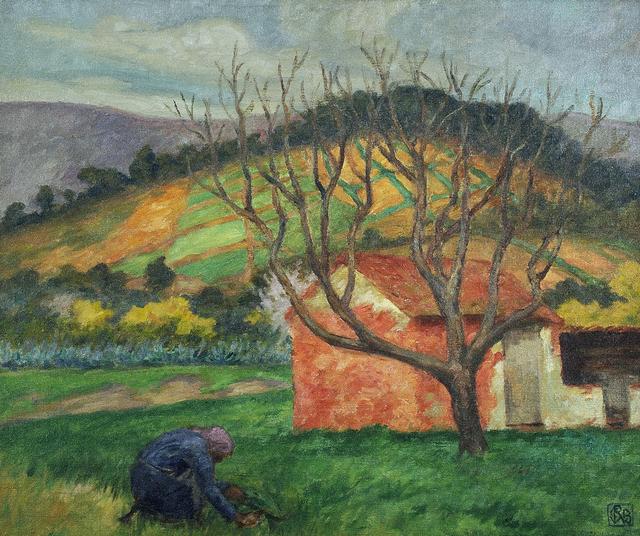 , 'Farmhouses, Le Lavandou,' ca. 1924, Charles Nodrum Gallery