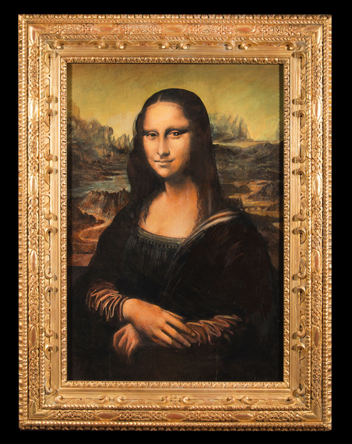 , 'Mona Lisa: The Secret in the Eye,' 2017, Emillions Art