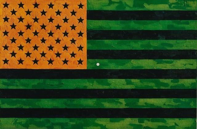 Jasper Johns, 'Flag (Moratorium)', 1969, Kings Wood Art