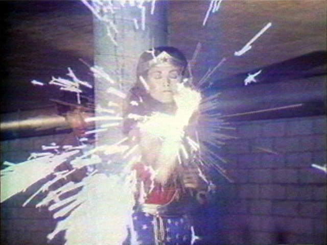 , 'Technology Transformation/Wonder Woman (video still),' 1978-1979, Vancouver Art Gallery