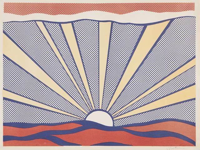 Roy Lichtenstein, 'Sunrise', 1965, Phillips