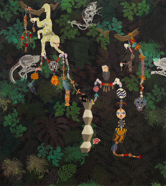 , 'La Selva de Constantin,' 2015-2016, Bernice Steinbaum Gallery