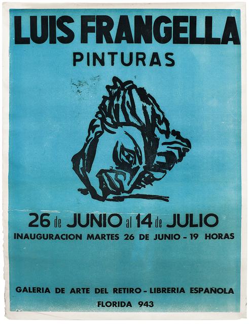 , 'Luis Frangella, Pinturas, Galería del Retiro,' 1984, Cosmocosa