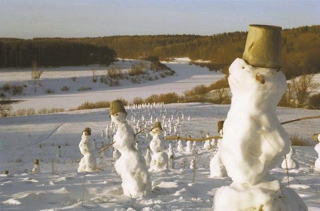 Nikolay Polissky, 'Snowmen', 2000, Galerie Lilja Zakirova