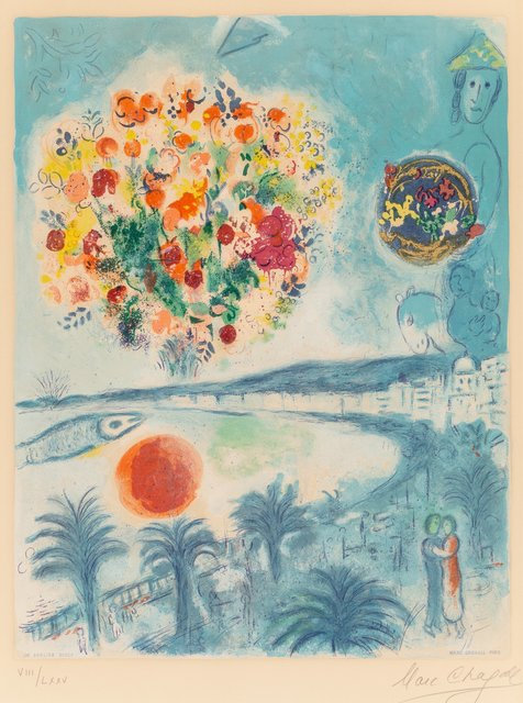 Marc Chagall, 'Sunset', 1967, Heritage Auctions