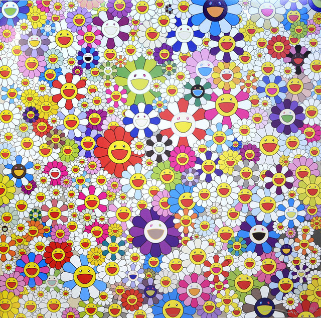 Takashi Murakami, 'If I Could Reach that Field of Flowers, I Would Die', 2010, Lougher Contemporary