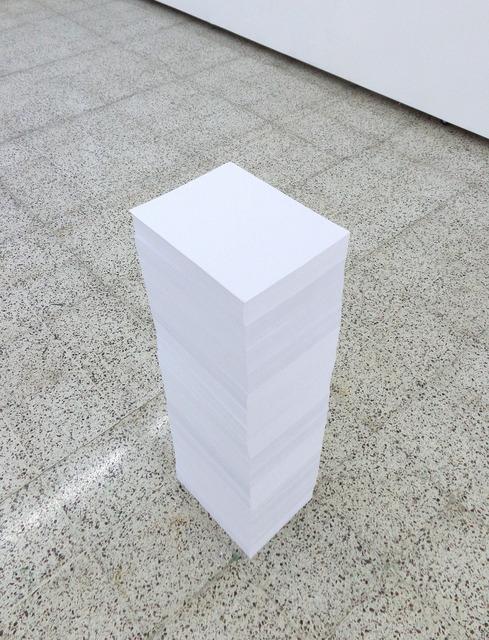 Aníbal Lopez, 'Straight Line (Linea recta)', 2013, the 9.99