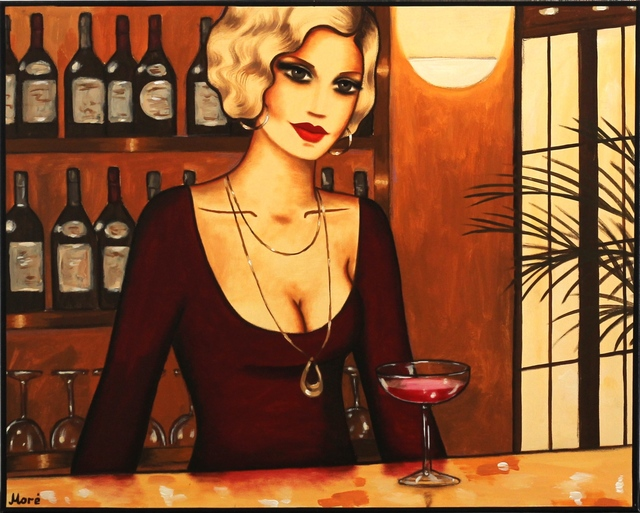 Ekaterina More, 'Barmaid', 2010, Painting, Acrylic on canvas, Artspace Warehouse