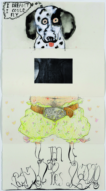 Judy Hudson, Bill Jensen, Delia Brown, and Matt Mullican, 'Exquisite Corpse 84,' ca. 2011, Mana Contemporary