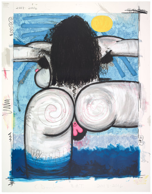 Carroll Dunham, 'Bather', 2016, Two Palms