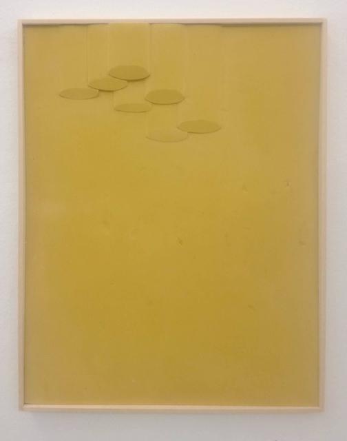 , 'Basso Giallo,' 2017, Federica Schiavo Gallery