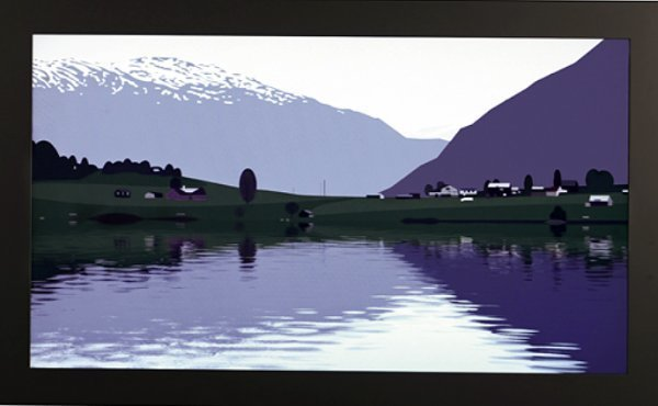 Julian Opie, 'I HAD MADE A COUPLE OF ANIMATED FILMS OF RIPPLING WATER…..', 2005, Dean Borghi Fine Art