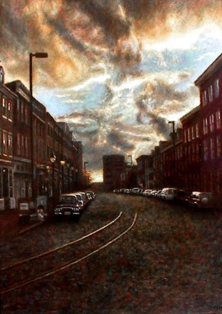 , 'Thames Street,' , Zenith Gallery