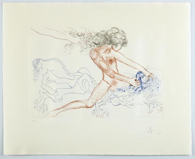 Salvador Dalí, 'Man Samson & Dellilah Art Surrealist Engraving', 1972, Modern Artifact