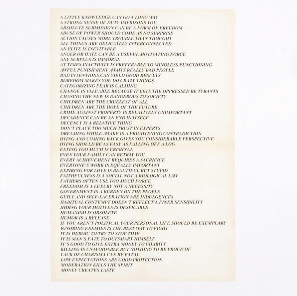 , 'Truisms (Toronto),' 1982, Caviar20