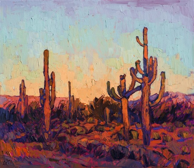 , 'Saguaro Color,' 2017, The Erin Hanson Gallery