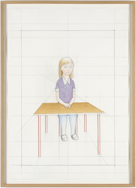 , 'An Attempt at Reconstructing my Elementary School Class, Based on my Memory (24),' 2012, Galleri Nicolai Wallner