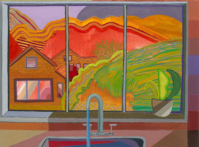 , 'Closed Window 11 (Kitchen Sink),' 2018, Gregory Lind Gallery