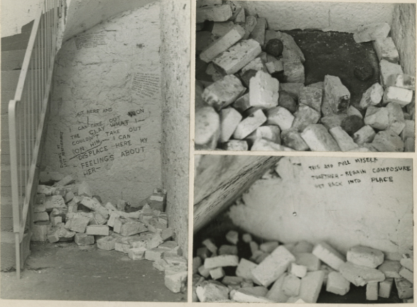 , 'Cross-Fronts (Compensation/Displacement Area),' 1972, Deborah Bell Photographs