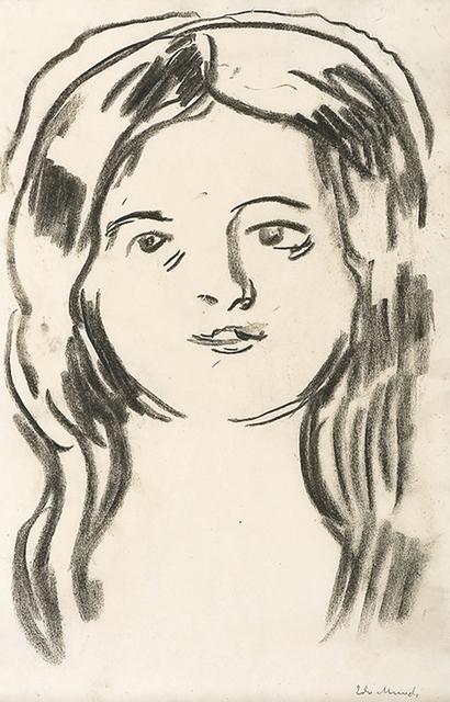 Edvard Munch, 'Mossepiken (The Girl from Moss)', 1910-1911, John Szoke
