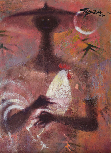 , 'Shepherd with Rooster,' 1960, Galería Nudo