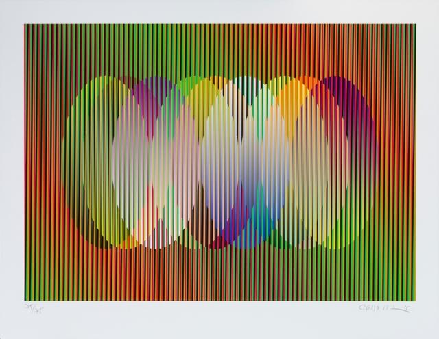 , 'Serie Cardíaca Oval 1,' 2015, Marion Gallery