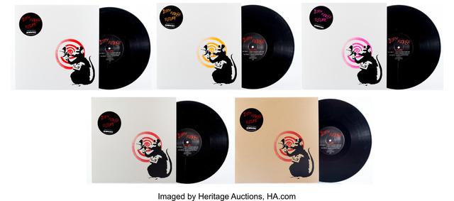 Banksy, 'Radar Rat Dirty Funker (Brown)', 2008, Heritage Auctions