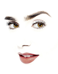 Portrait of Actress Lily Collins (daughter of musician Phil Collins), shot January 6th, 2017 for the cover of Manhattan Magazine