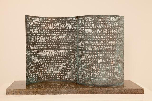 , 'The Kryptos Model,' 2006, C. Grimaldis Gallery