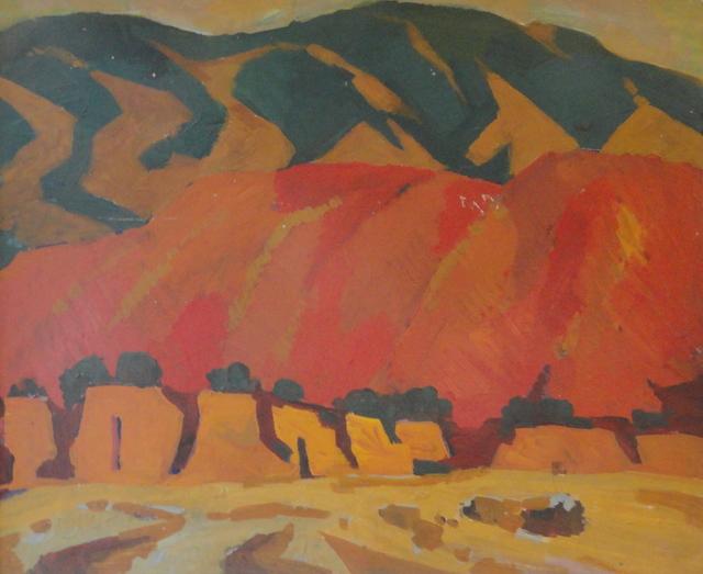 Sarkis Sanosyan, 'Issyk Kul area', 1966, OYANU Gallery