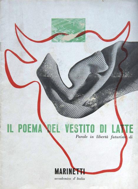 , 'Il poema del vestito di latte, a cura dell'Ufficio Propaganda SNIA Viscosa, Milano, Officina Grafica Esperia,' 1937, Triennale Design Museum