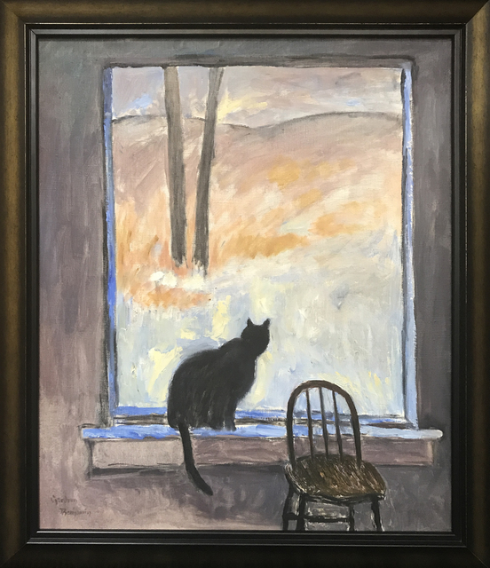 , 'Chuki Watching,' ca. 1975, Cavalier Galleries