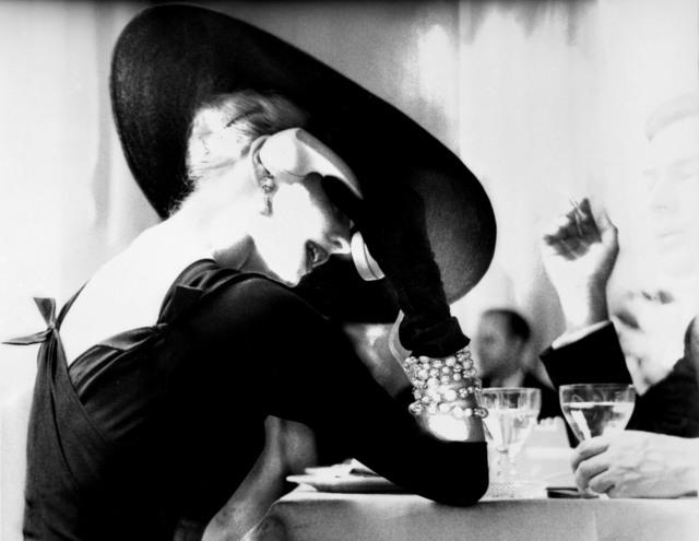 , 'The V-Back Evenings, Suzy Parker,' 1955, CAMERA WORK