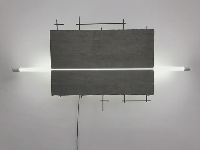 , 'Schnitt III-18,' 2018, Galerie Floss & Schultz