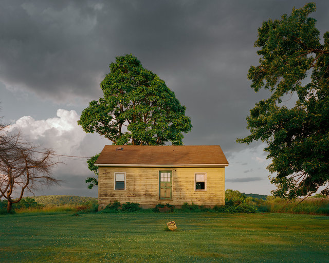 , 'Yellow House, Wire Road, Germantown, New York,' 2016, Tracey Morgan Gallery