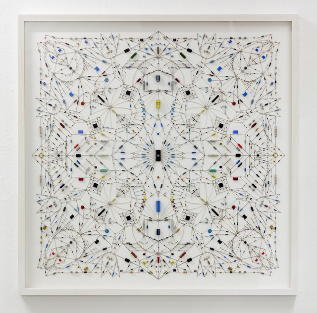 , 'Technological mandala 19,' 2014, The Flat - Massimo Carasi