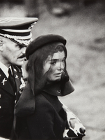 Elliott Erwitt, Jacqueline Kennedy, Arlington, Virginia