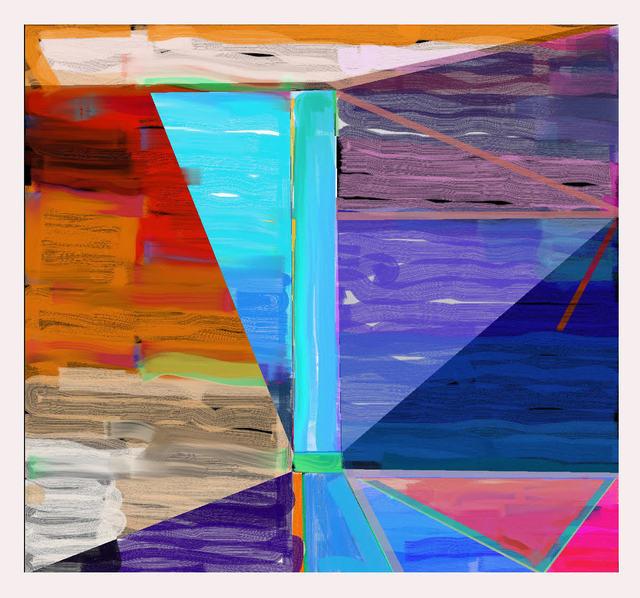 """Warren Rosser, 'Pole Series """"B""""', 2019, Joseph Nease Gallery"""