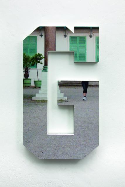 , 'G (2),' 2010, Silberkuppe