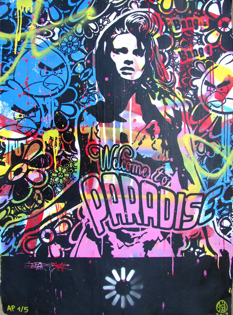 Speedy Graphito, 'Welcome to Paradise ', 2013, Denis Bloch Fine Art