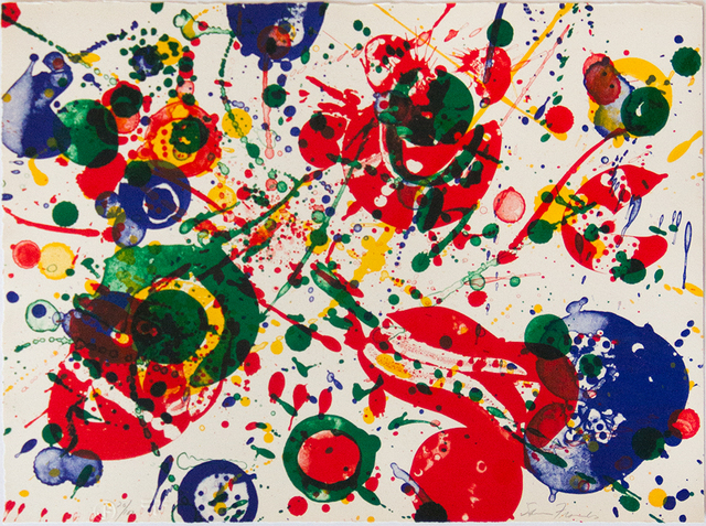 Sam Francis, 'Untitled #4 (from Pasadena Box)', 1963, Jim Kempner Fine Art
