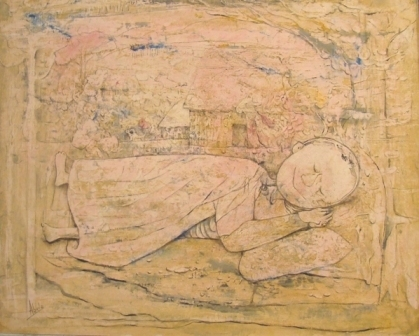 , 'El Nino Dormido,' 1955, Pan American Art Projects