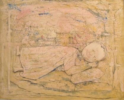 , 'El Nino Dormido,' 1955, Pan American Art Projects