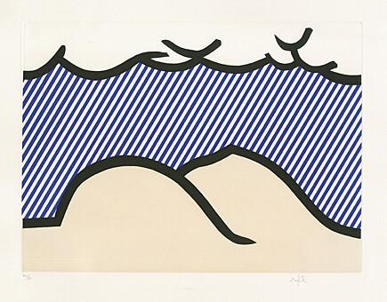 """, 'Illustration for """"De Denver au Montana, Départ 27 Mai 1972"""" (I) from """"La Nouvelle Chute de l' Amerique"""" (The New Fall of America) ,' 1992, Galerie Boisseree"""