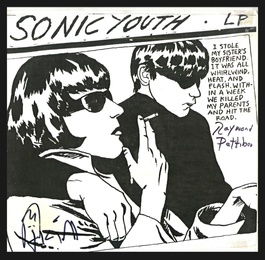 Sonic Youth (Hand Signed by both Raymond Pettibon and Kim Gordon)